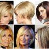 Medium and long haircuts for women