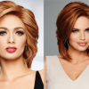 Pictures of medium length haircuts with layers