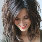 Pictures of medium length layered hairstyles